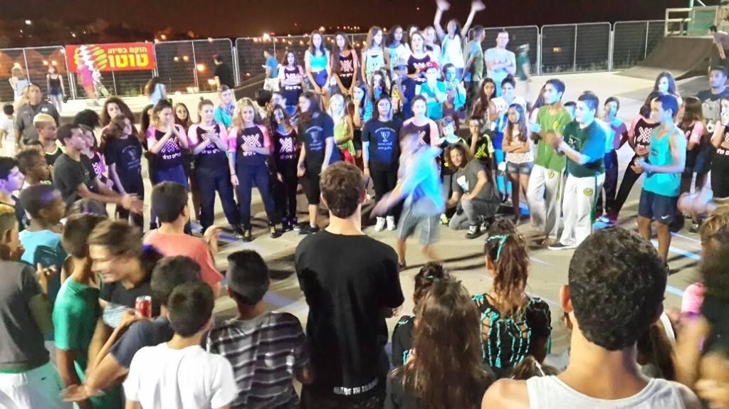 מסיבת אקסטרים ותרבות רחוב