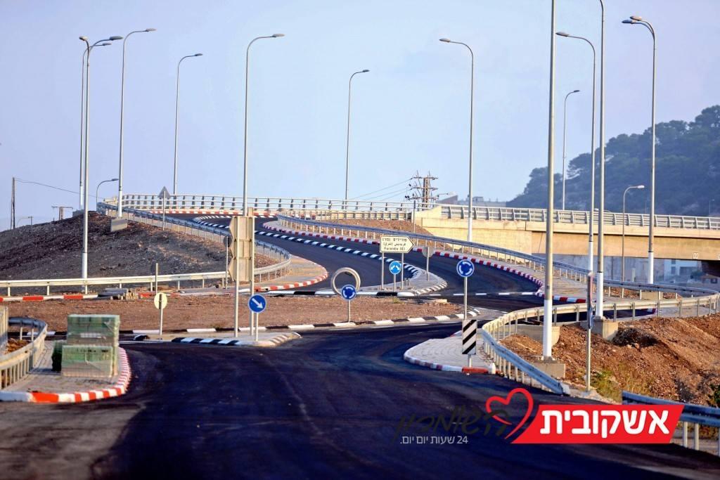 כביש 70 המשודרג, גשר הכניסה מזרחית לפוריידיס וכביש העלייה לזיכרון יעקב (