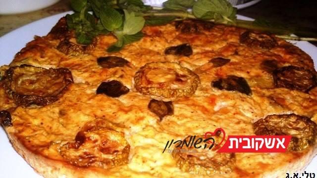 פשטידה קישואים, גבינות וזעתר