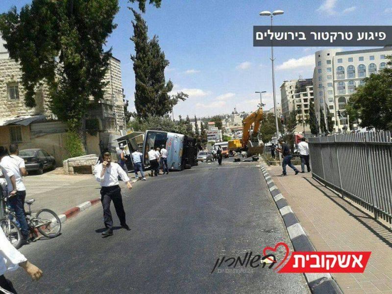 פיגוע בירושלים, גבר נרצח ו-חמישה פצועים