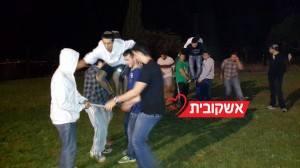 120 תלמידים מישיבת לפיד עברו הכנה בבקעת הירדן